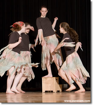 Tree Spirits perform at the 2008 Afternoon of Dance.